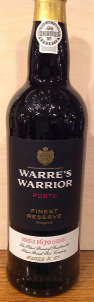 Warre's Warrior Port NV