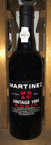 Martinez Vintage Port 1994