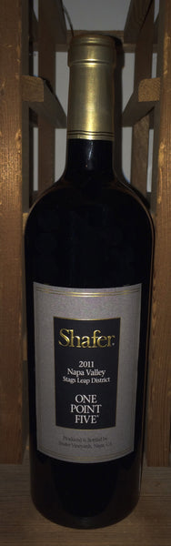 Shafer One Point Five Cabernet Sauvignon 2017