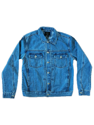 Denim Jacket + Free Tee