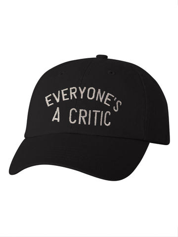 Everyone's A Critic Dad Cap in Black