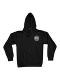 International Hoodie in Black