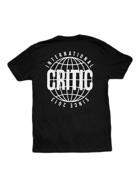 International Tee in Black