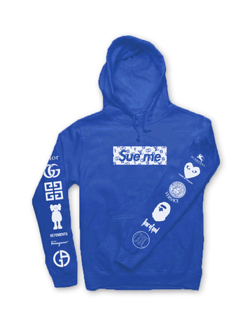 *PRE-ORDER* Sue Me Hoodie in Royal Blue