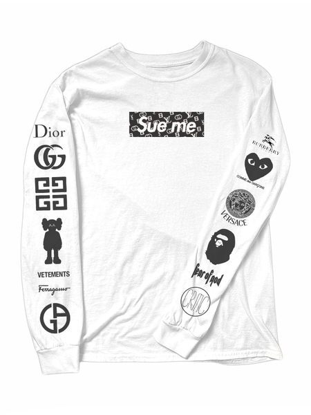 *PRE-ORDER* Sue Me Long Sleeve in White