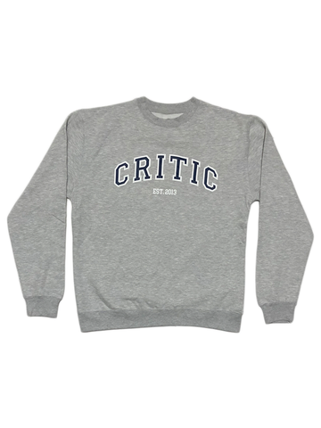 University Crewneck in Grey