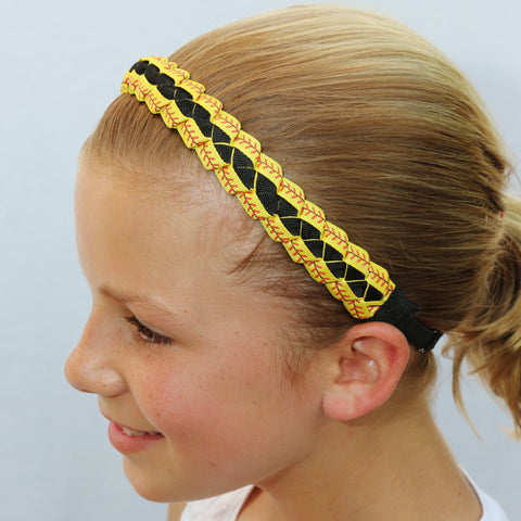 Sillies Headband VBII - Softball Lace