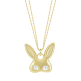 Large Gold Rabbit Mask - Finn