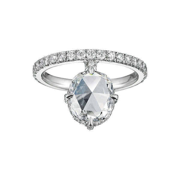 June Rose Cut Engagement Ring - Finn