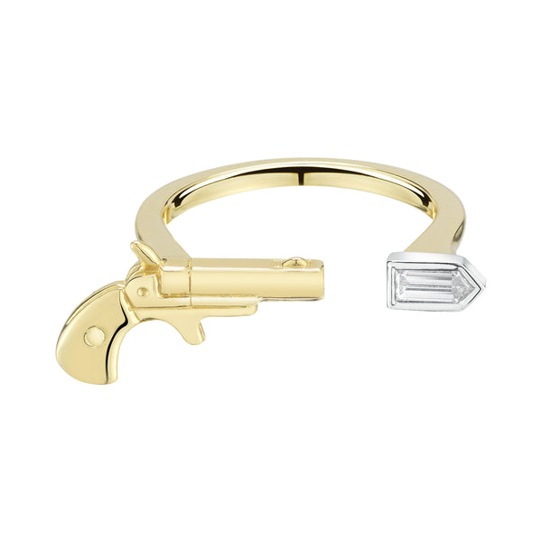 Diamond Pistol Ring - Finn