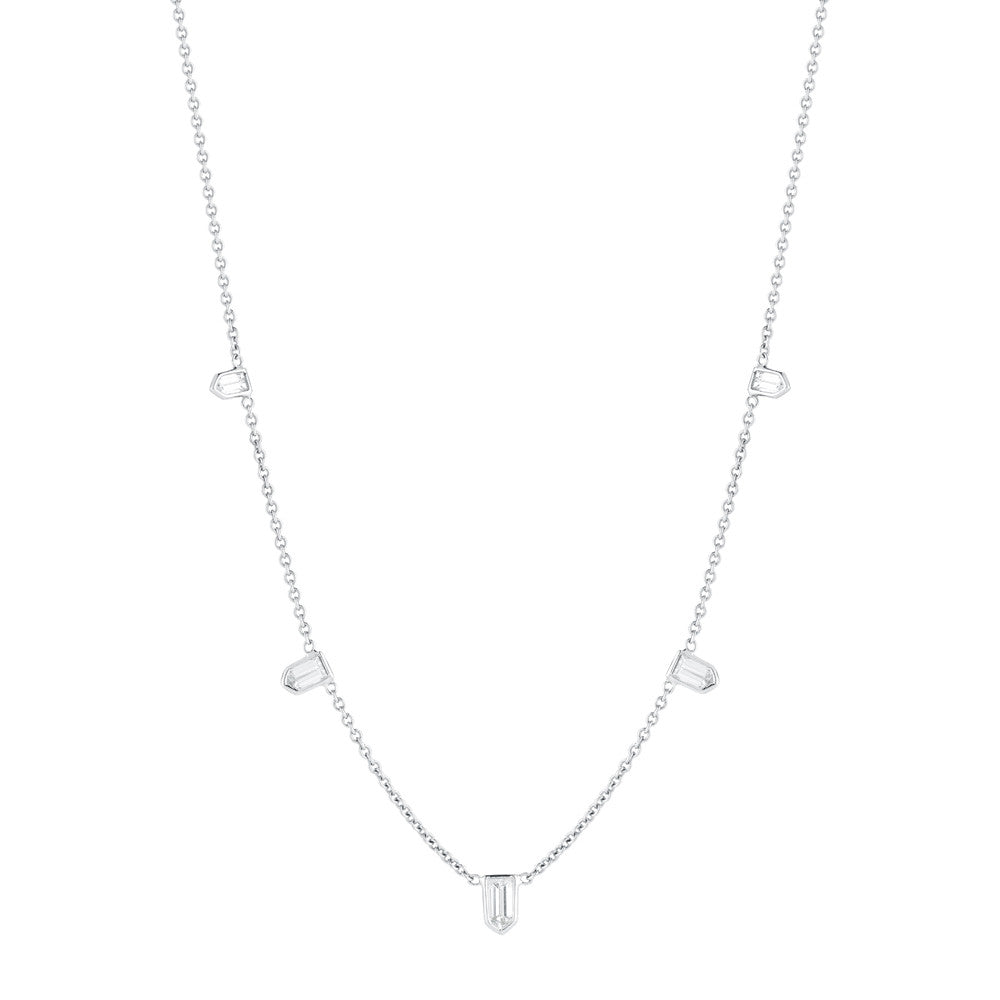 Bullet Diamond Necklace - Finn