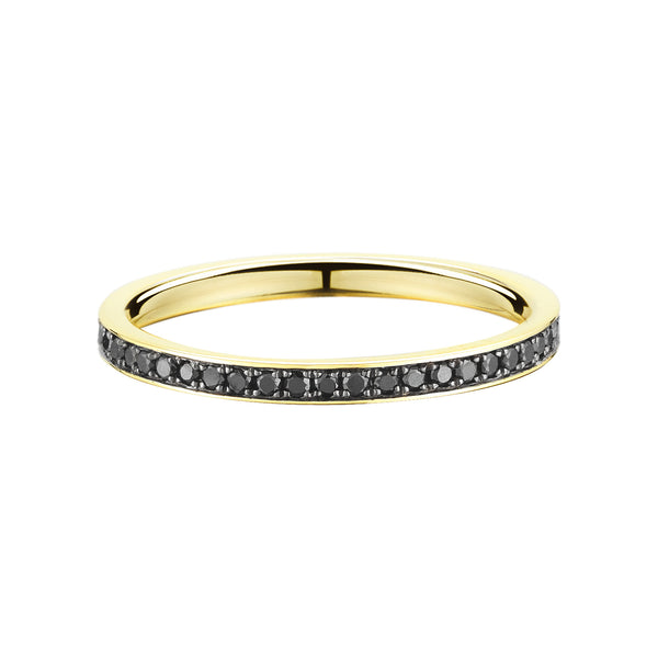 Black Diamond Souvenir Eternity Band - Finn