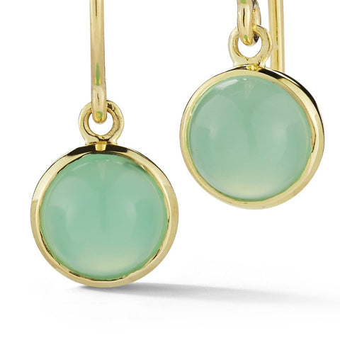 mint green chrysophase earrings finn jewelry