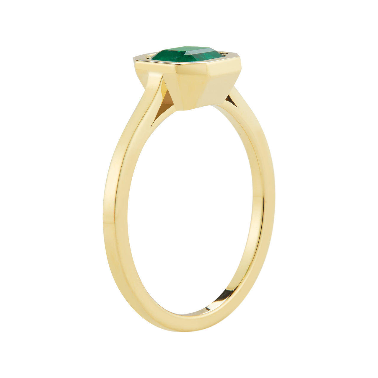 Custom Emerald Engagement Ring by Finn by Candice Pool Neistat