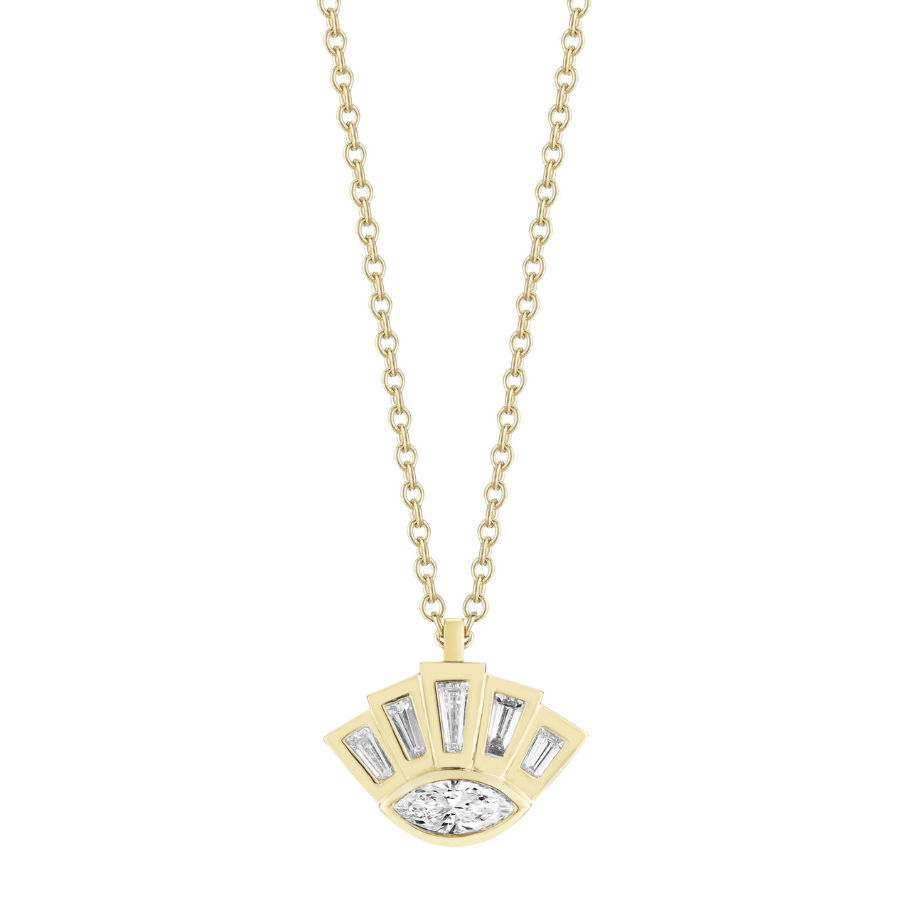 Eye of Providence Necklace - Finn