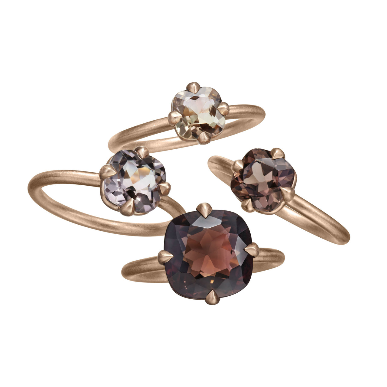 Tourmaline Solitaire Rings