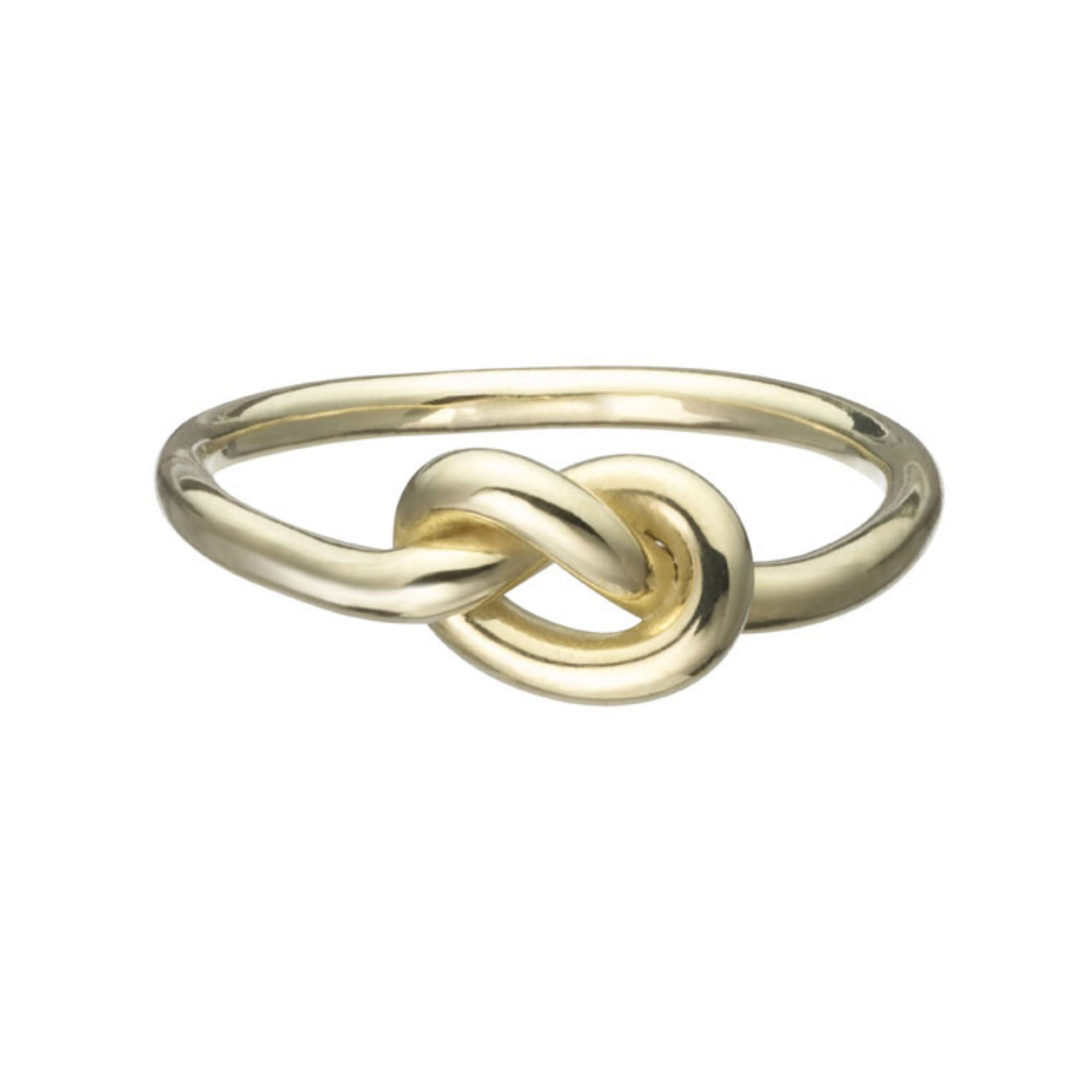 Gold Love Knot Ring - Finn