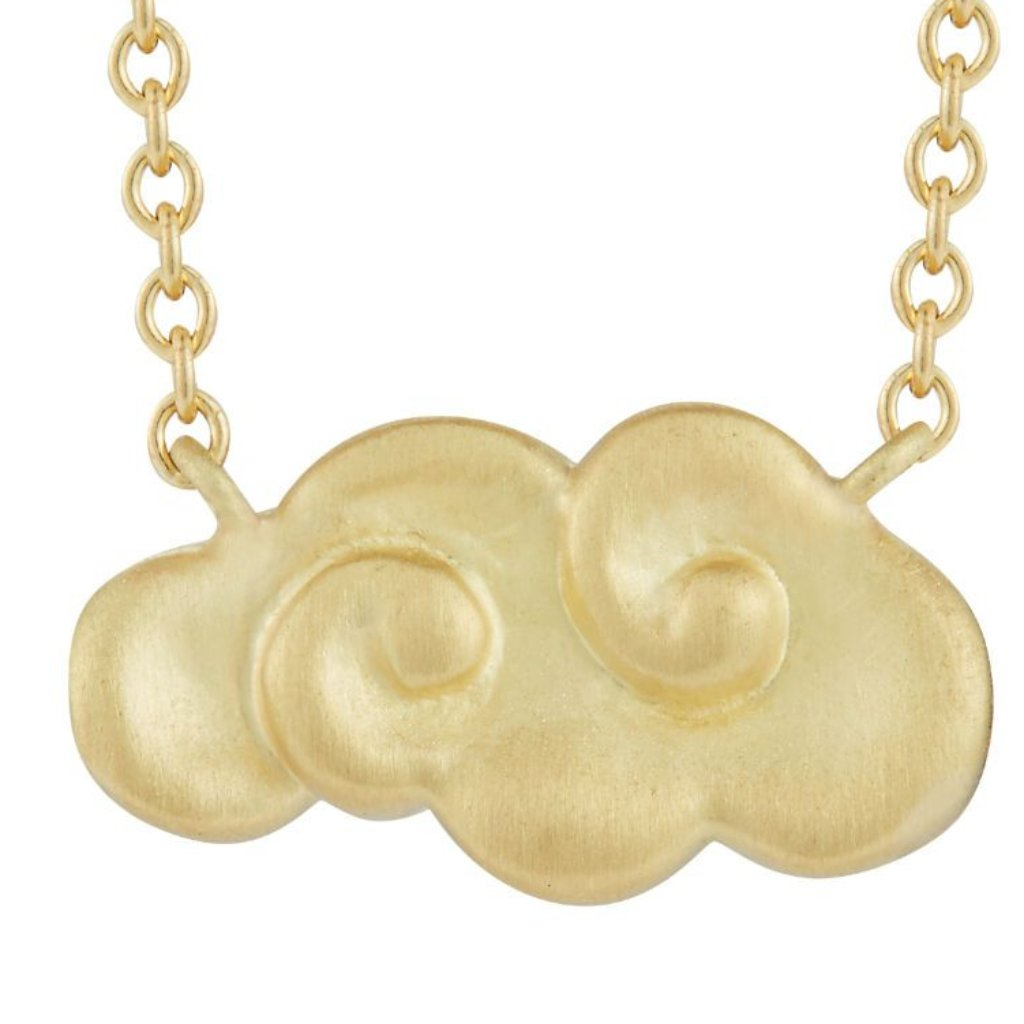 Gold Cloud Necklace