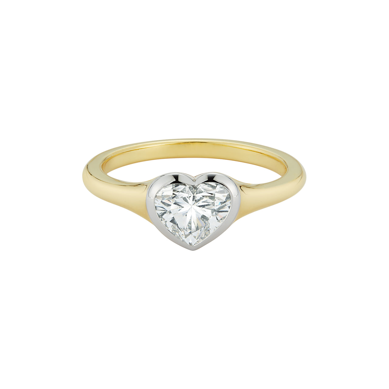Heart Solaris Engagement Ring
