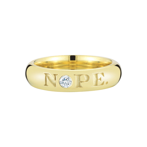 NOPE/OK Ring - Finn
