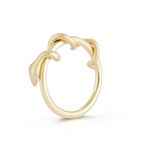 Articulated Snake Ring