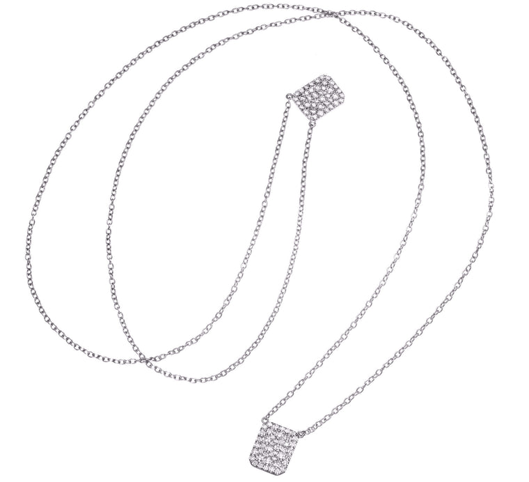 Small Pave Scapular