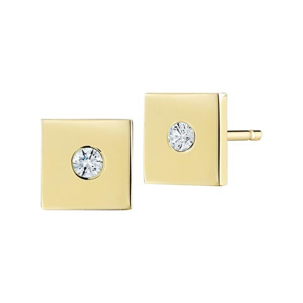 Diamond Flag Studs - Finn