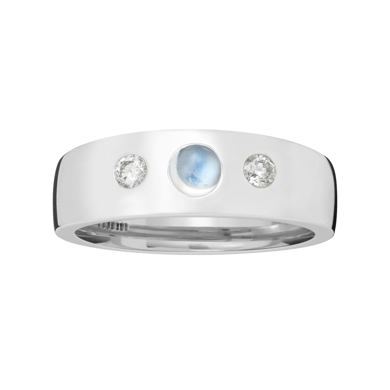 Moonstone Gypsy Pinky Ring