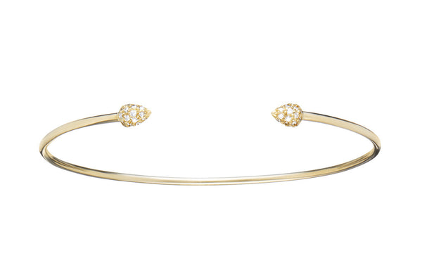 Pave Little Princess Bangle - Finn