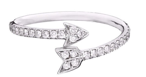 Pave Arrow Ring - Finn