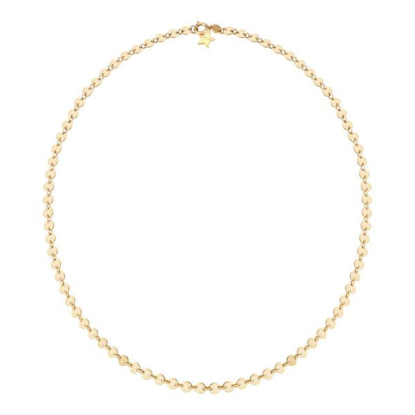Gold Filled Sequin Necklace - Finn