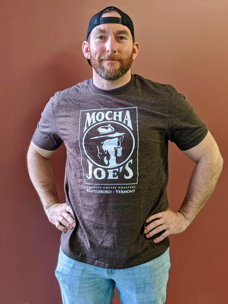 Mocha Joe's T-Shirt - Brown