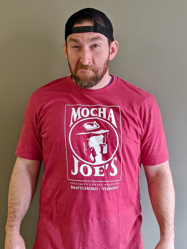 Mocha Joe's T-Shirt - Red