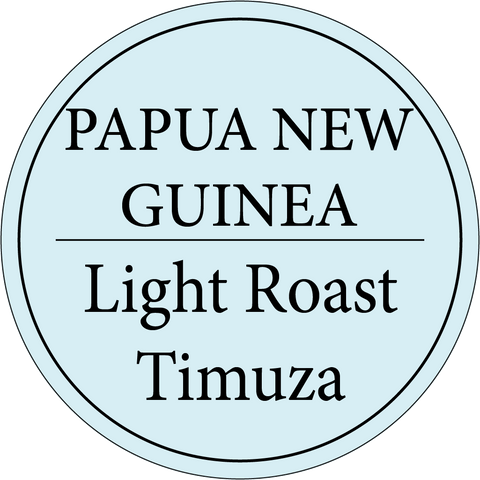 Papua New Guinea | Timuza | Organic | Light Roast