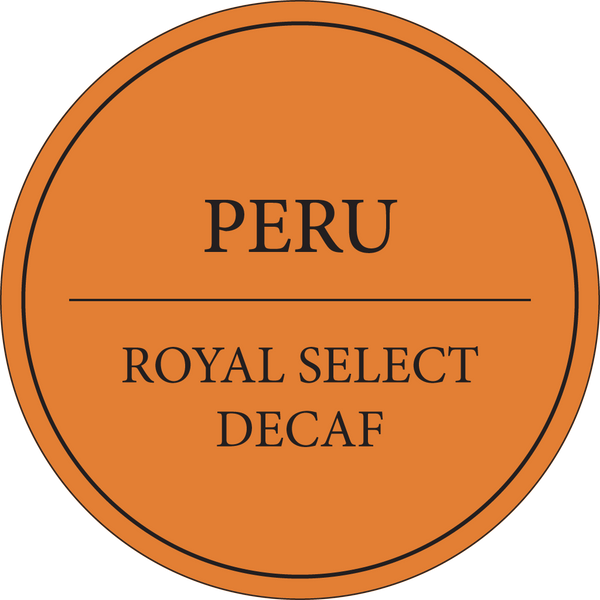 Peru | Royal Select | Organic Fair Trade | Light Roast Decaf