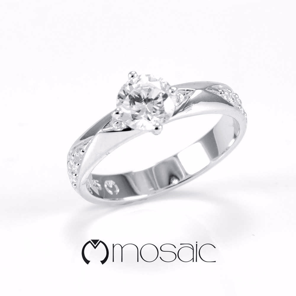June :: Ring 1.684 - Mosaic Design Jewelry
