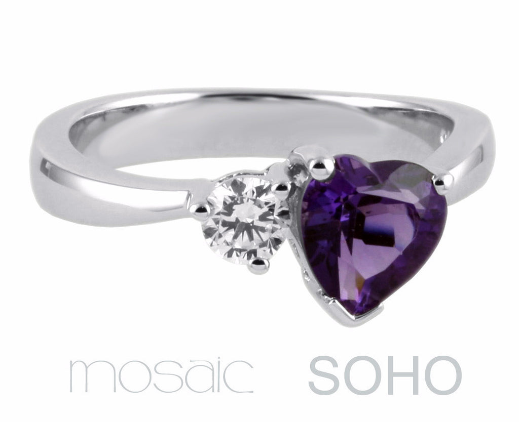 SOHO :: ring - Mosaic Design Jewelry