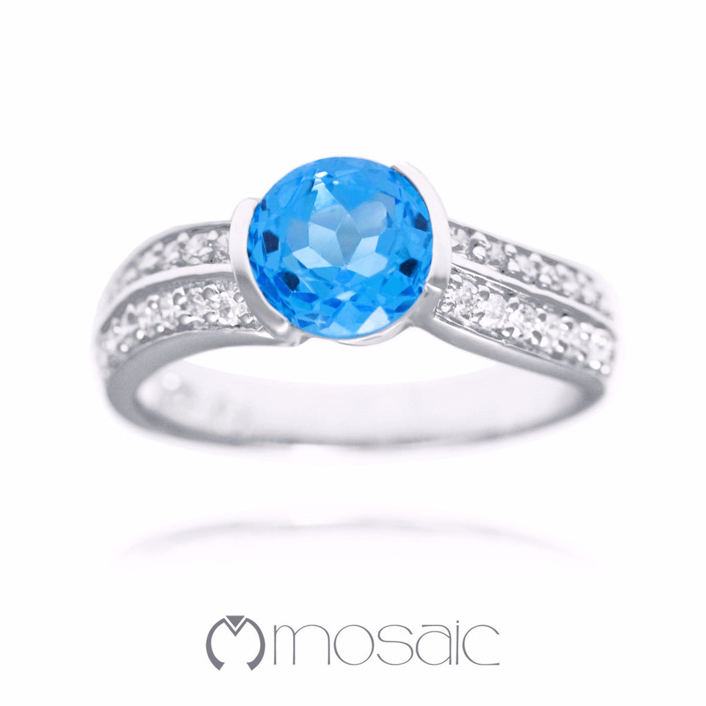 Grace :: Ring 1.738B - Mosaic Design Jewelry