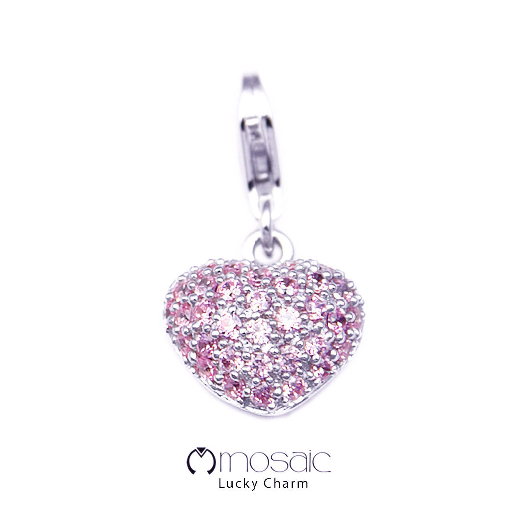 Heartx pink :: Lucky Charm (10.012PK) - Mosaic Design Jewelry - 1