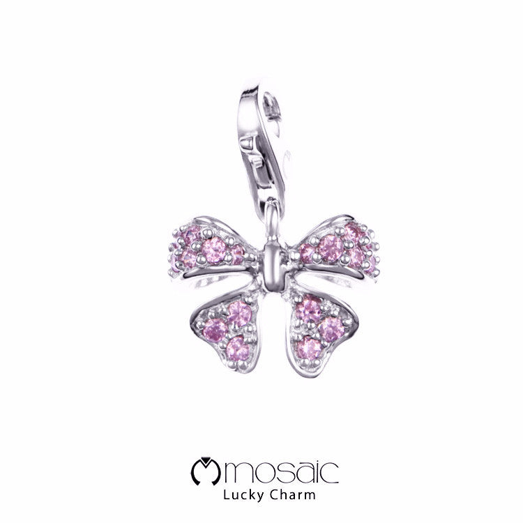 Evie Pink :: Lucky Charm (10.032PK) - Mosaic Design Jewelry - 1