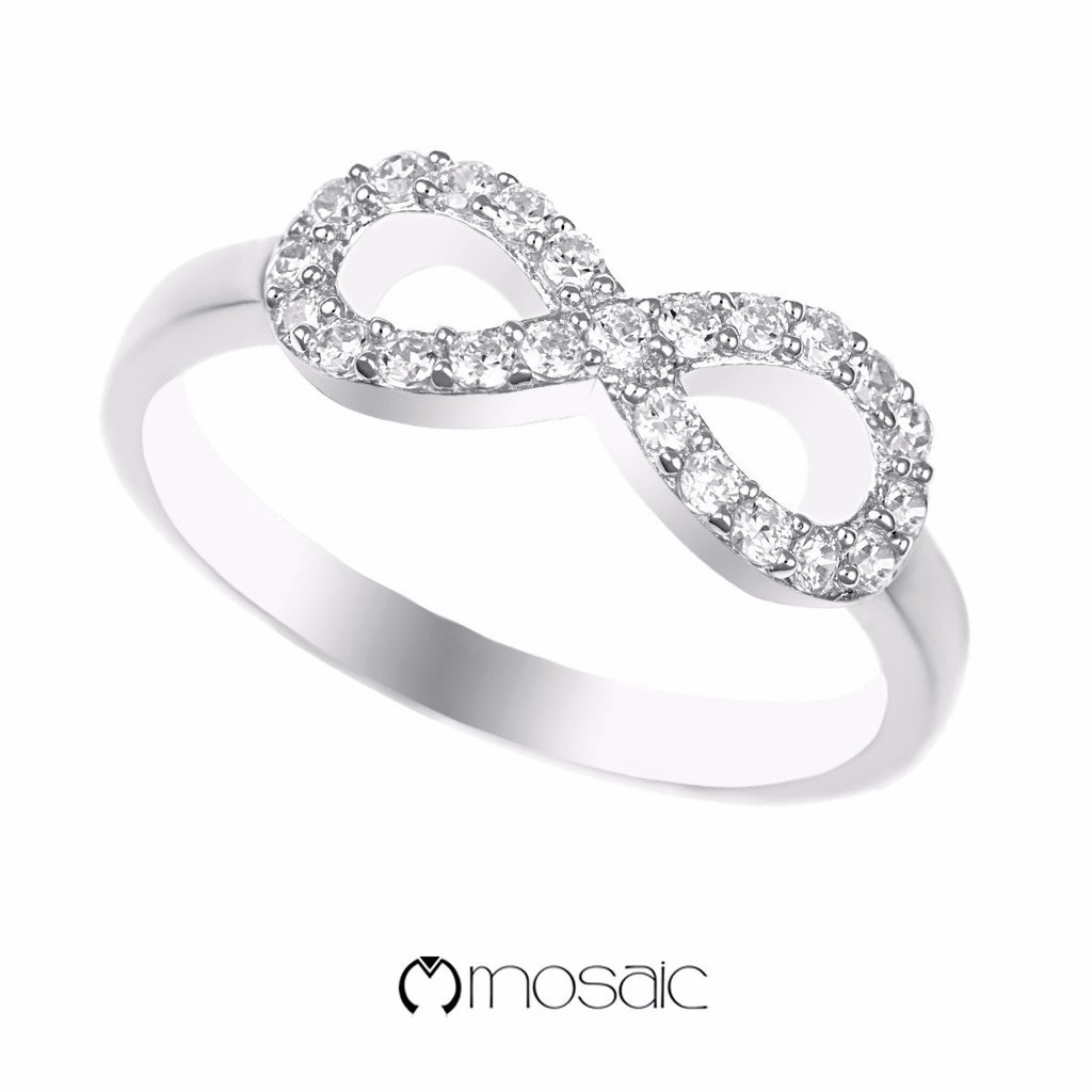 Yeong :: Infinity Ring 150203 - Mosaic Design Jewelry - 1