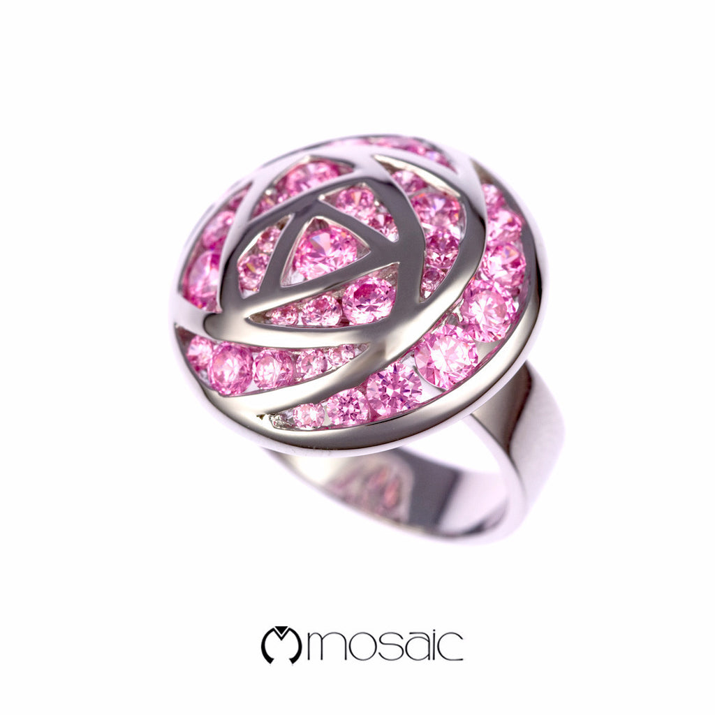 Tsubaki :: Rose Flower Ring 1.742PK - Mosaic Design Jewelry - 1