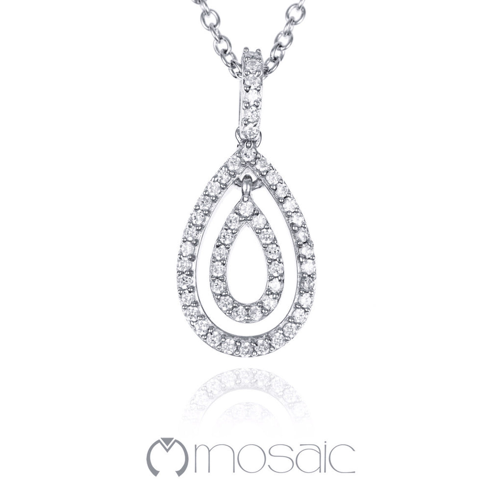Victoria :: Necklace 3.699 - Mosaic Design Jewelry - 1