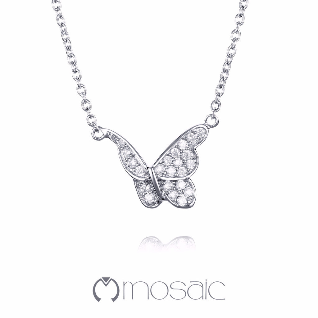 Papillon :: Butterfly Necklace 3.701 - Mosaic Design Jewelry
