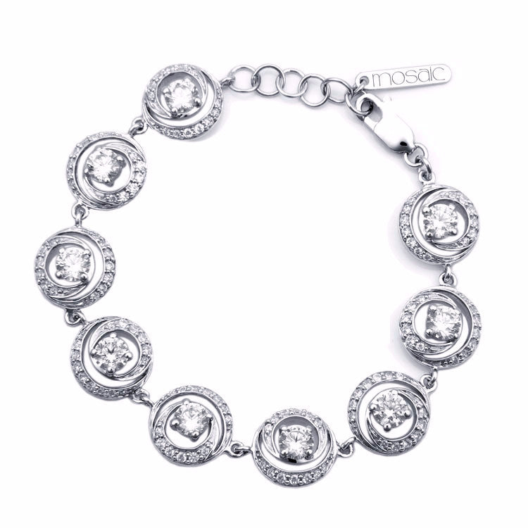 Cyclone :: bracelet with cubic 4.527 - Mosaic Design Jewelry - 1