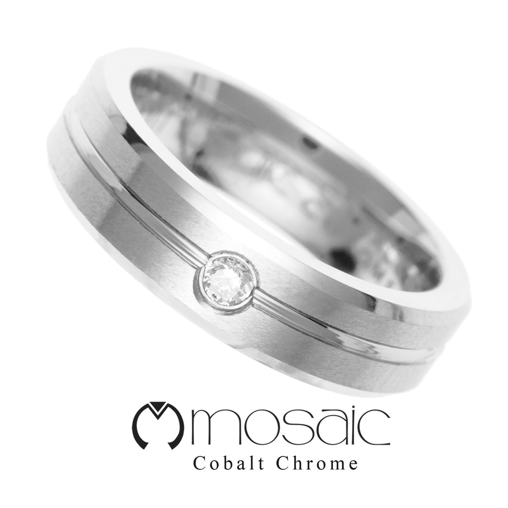 Cobalt Chrome Ring C1.025 - Mosaic Design Jewelry