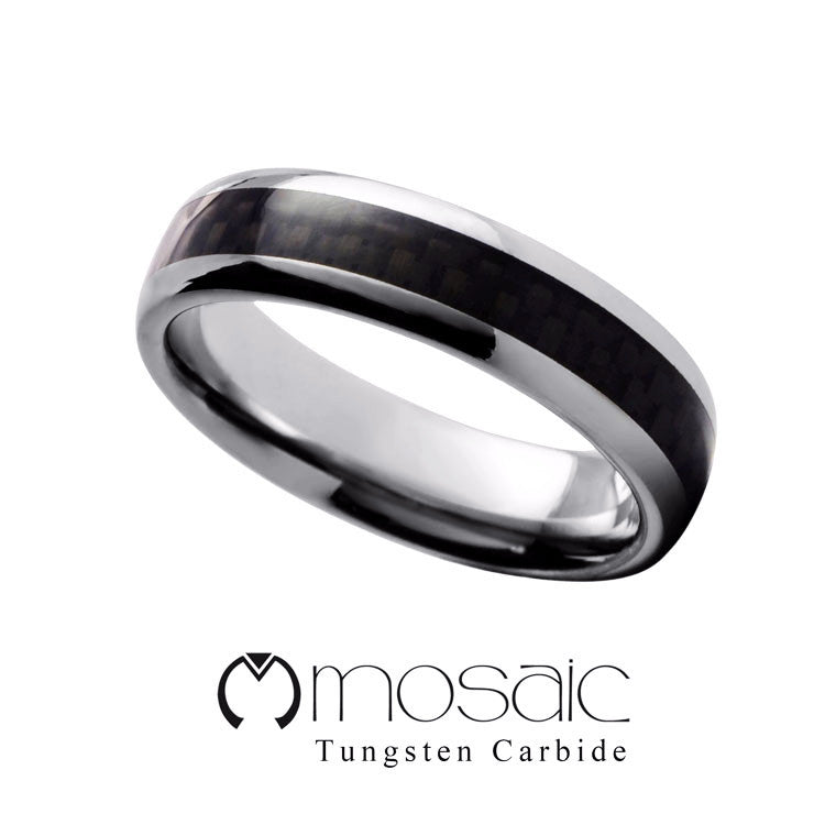Premium Tungsten Ring - Mosaic Design Jewelry - 1