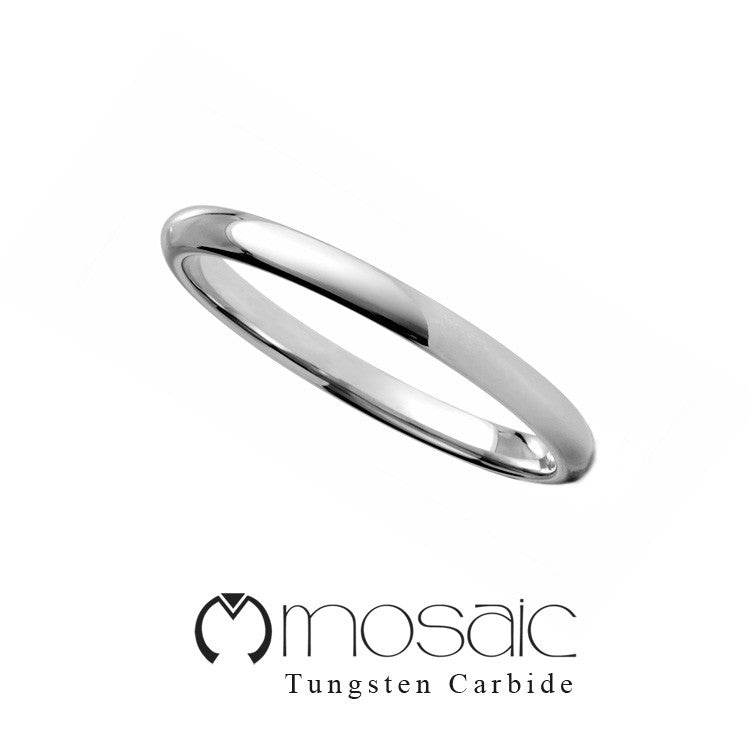 Premium Tungsten Ring - Mosaic Design Jewelry