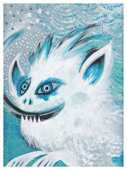 Snow Monster Print