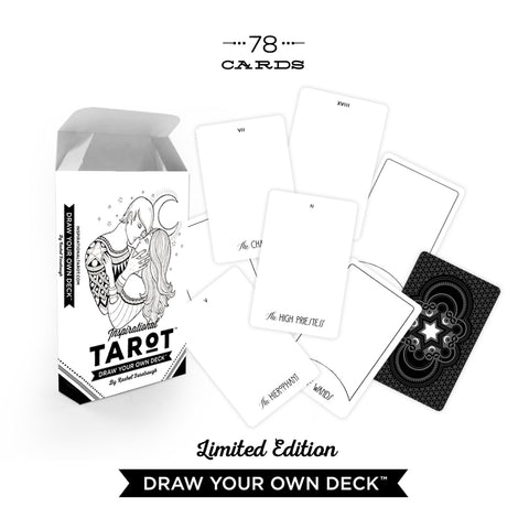 Draw Your Own Tarot Deck + Guidebook